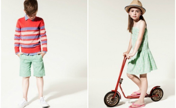Kids Fashion: весенне-летняя коллекция Tommy Hilfiger (ФОТО)